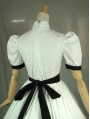 White Short Sleeves Bow Classic Lolita Dress