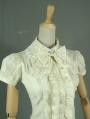 Ivory Short Sleeves Sweet Lolita Blouse