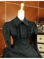 Black Long Sleeves Classic Gothic Lolita Dress