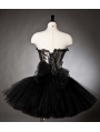 Black Romantic Gothic Corset Dress