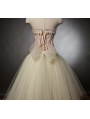 Pink and Ivory Burlesque Corset Short Party Dress