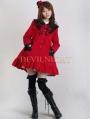 Sweet A-Line Princess Bow Winter Lolita Coat