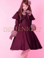 Sweet Princess A-Line Winter Lolita Cape Coat