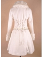 White Elegant Winter Lolita Cape Coat