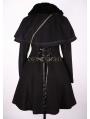 Black Sweet Winter Lolita Cape Coat