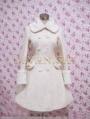 White Elegant Winter Lolita Coat