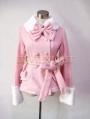 Pink Sweet Princess Short Winter Lolita Coat