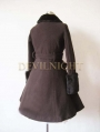 Black Elegant Winter Lolita Coat