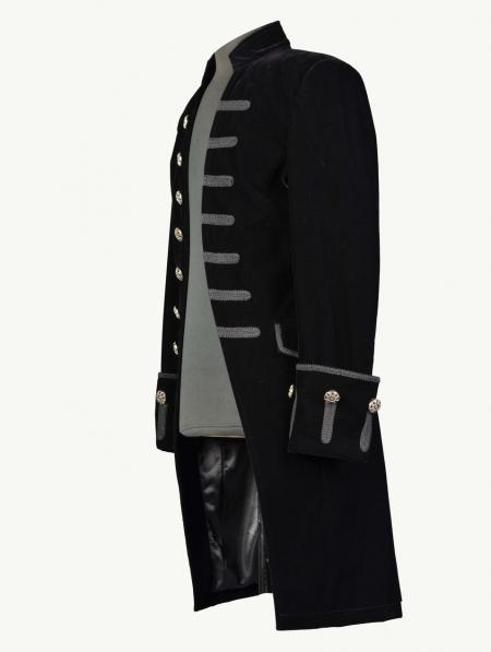 Black Alternative Gothic Coat For Men Devilnight Co Uk