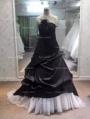 Black Romantic Gothic Wedding Dress