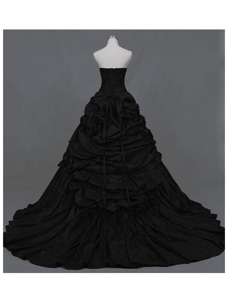 Gothic Black Ball Gown