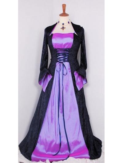 Medieval Wedding Dresses Mthat Are Purple 15