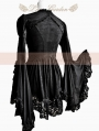 Black Lace Long Sleeves Gothic Blouse