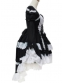White and Black Sweet Maid Lolita Dress
