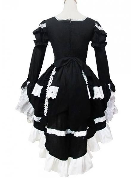 White And Black Sweet Maid Lolita Dress Devilnight Co Uk