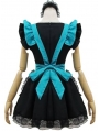 Green and Black French Maid Lolita Dress