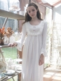 Sweet Princess Long Sleeves Medieval Chemise Dress