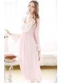 Sweet Princess Long Sleeves Medieval Chemise Dress