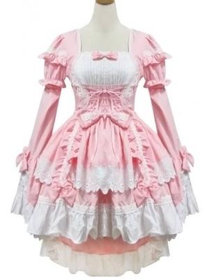 Pink Sweet Maid Lolita Dress