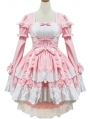 Pink Sweet Maid Lolita Dress