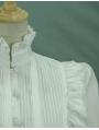 White Gothic Lolita Blouse for Women