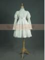 Vintage White Cotton Long Sleeves Classic Lolita Dress