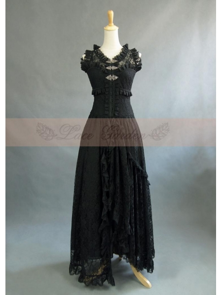 Victorian Fashion Wedding Dress