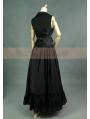 Black Gothic Two Piece Suit