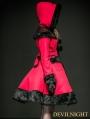 Red Woolen Lolita Coat with Hat