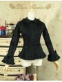 Black Long Sleeves Gothic Lolita Blouse
