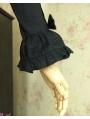 Black Long Sleeves Gothic Lolita Blouse
