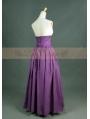 Purple Vintage High Waist Long Victorian Skirt