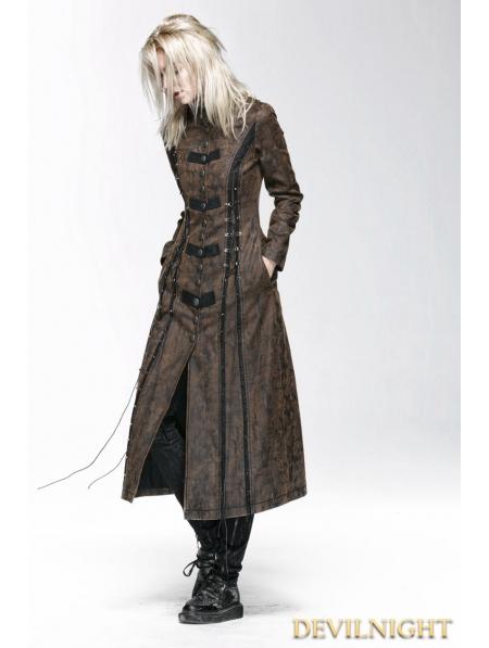 Brown Gothic Dress