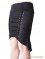 Black Sexy Gothic Fishtail Skirt