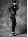 Black Gothic Punk Short Skirt
