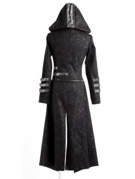 Long Trench Coat Black