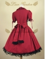 Black and Red Gothic Lolita Dress