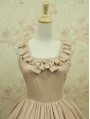 Nude Colors Sleeveless Classic Lolita Dress