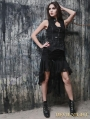 Black Sexy Gothic Vest for Women