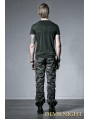 Male Camouflage Two-Wear Trouser with Handcuffs