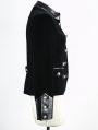 Black Gothic Short Jacket for Women