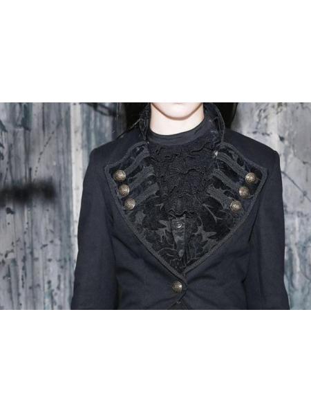 Black Swallow Tailed Coat For Women Devilnight Co Uk