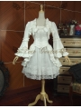 White Long Sleeves Sweet Lolita Suit
