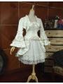 White Long Sleeves Sweet Lolita Suit