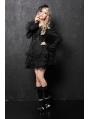Black/White Gothic Lolita Dress