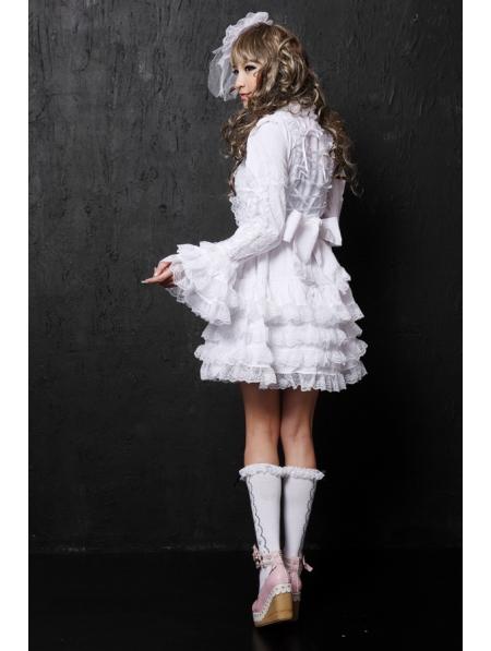 Black White Gothic Lolita Dress Devilnight Co Uk