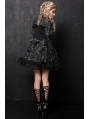 Black/Red Printed Gothic Lolita Dress