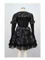 Black/Red Printed Gothic Lolita Dress