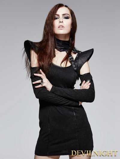 Black Gothic Cool Fantastic Collar