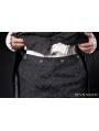Simple Black Gothic Pants for Men